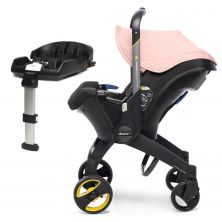 Doona Infant Car Seat Stroller With ISOFIX Base-Blush Pink (New 2019)