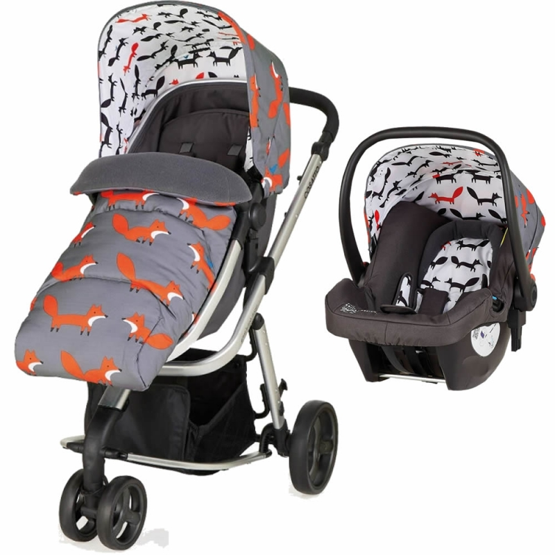 Cosatto Giggle Mix 3in1 Travel System-Mister Fox (New 2018)