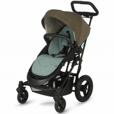 Micralite SmartFold Stroller-Evergreen