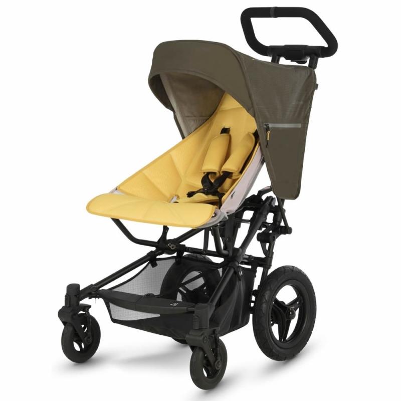 Micralite FastFold Stroller-Khaki/Saffron