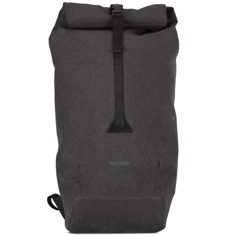 Micralite TwoFold 40L Capacity Attachable Shopping Bag-Carbon