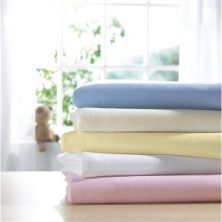 IzziWotNot 2 Pack Jersey Interlock Cot Fitted Sheets-Pink