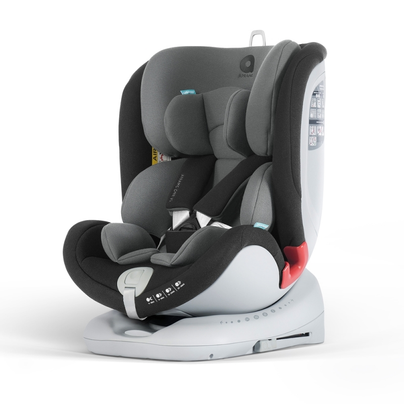 Apramo All Stage Group 0+/1/2/3 Child Car Seat-Midnight Black