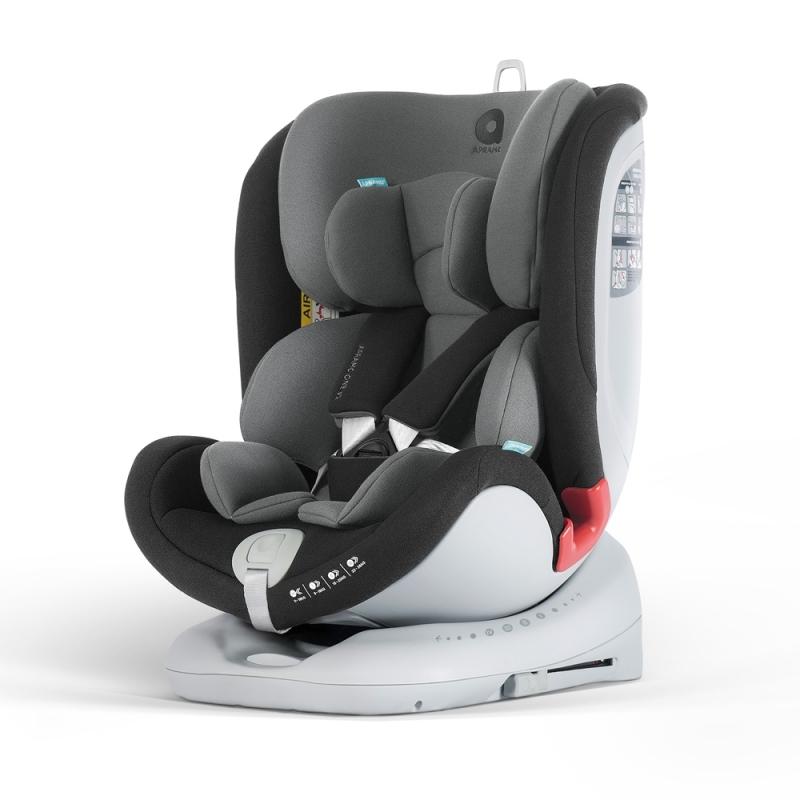 Apramo All Stage Group 0+/1/2/3 Child Car Seat-Midnight Black