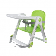 Apramo Flippa Dining Booster Seat-Green