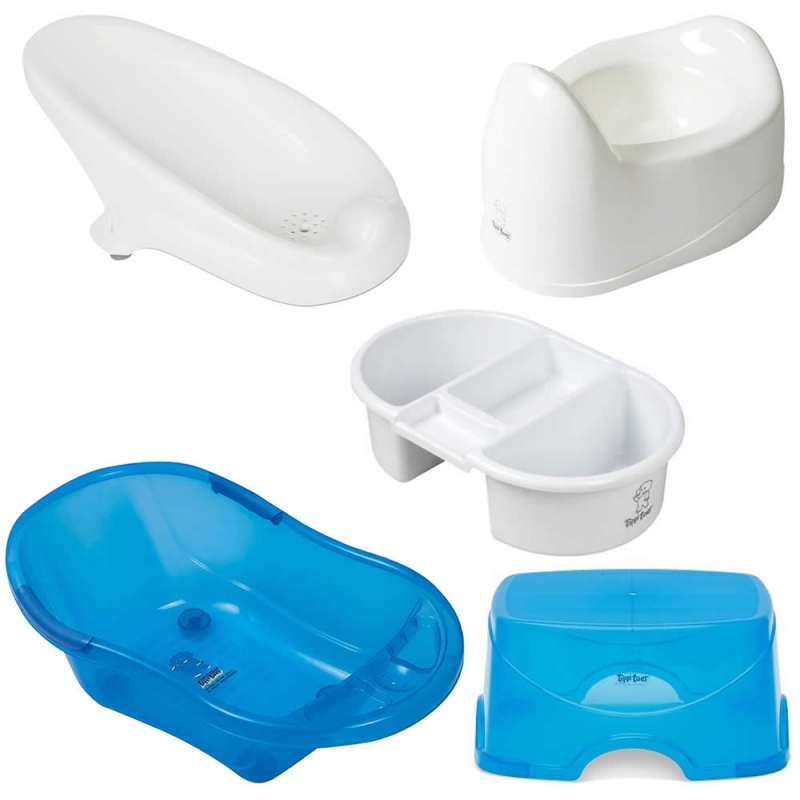 Tippitoes 5-in-1 Package Bathtime-Blue