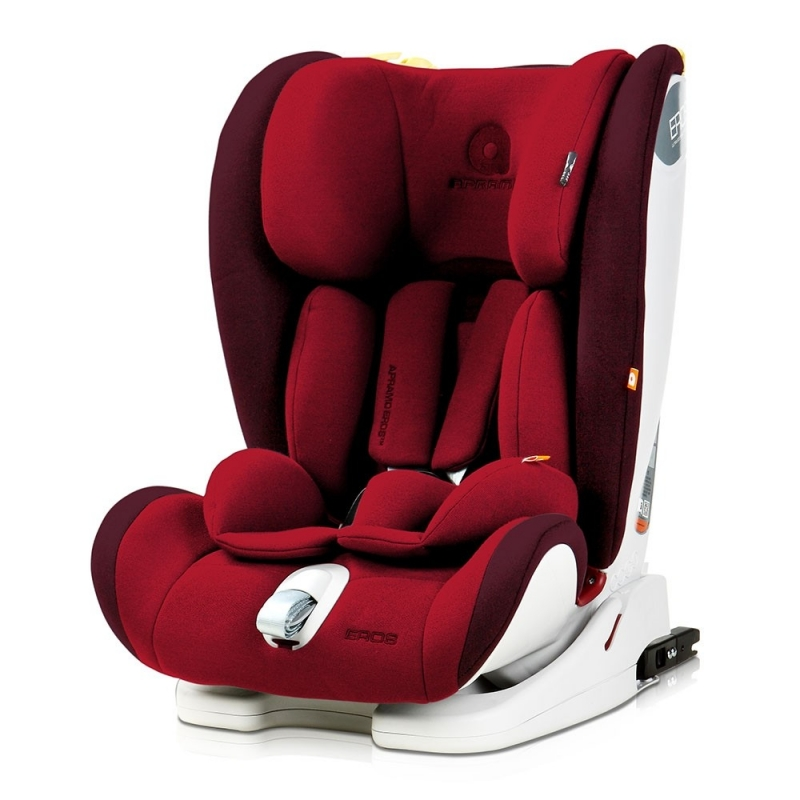 Apramo Eros Group 1/2/3 Car Seat-Chilly Red
