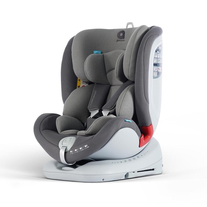Apramo All Stage Group 0+/1/2/3 Car Seat-Slate Grey