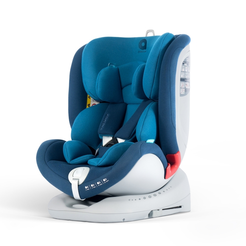 Apramo All Stage Group 0+/1/2/3 Car Seat-Royal Blue