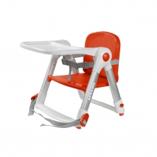 Apramo Flippa Dining Booster Seat-Red