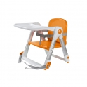 Apramo Flippa Dining Booster Seat-Orange