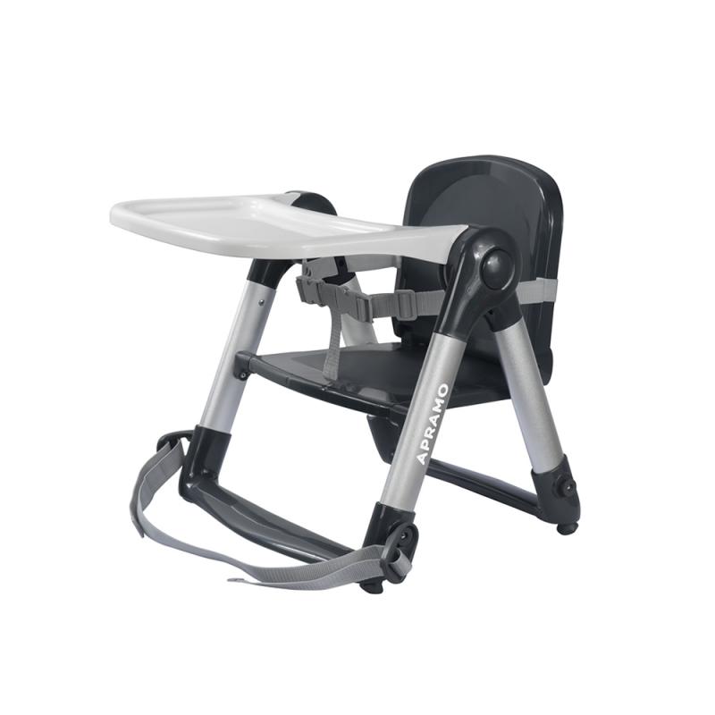 Apramo Flippa Dining Booster Seat-Grey