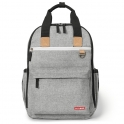 Skip Hop Duo Changing Backpack-Grey Melange