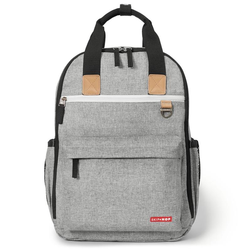 Skip Hop Duo Changing Backpack-Grey Melange
