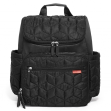 Skip Hop Forma Changing Backpack-Jet Black