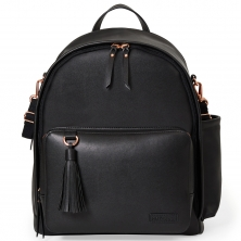 Skip Hop Greenwich Simply Chic Changing Backpack - Black