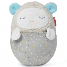 Skip Hop Moonlight & Melodies Hug Me Projection Baby Soother-Lamb