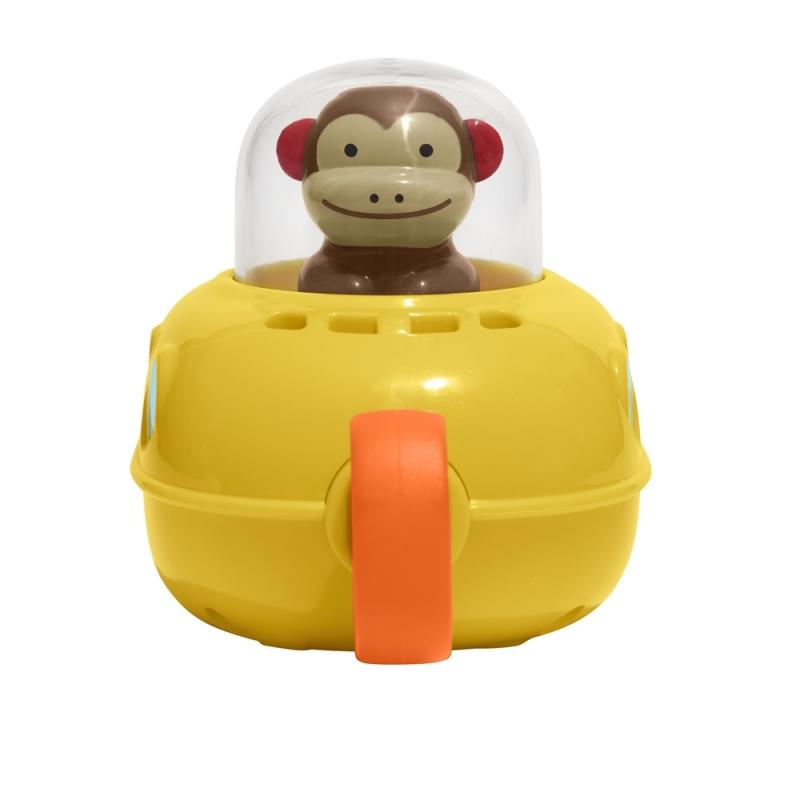 Skip Hop Zoo Pull & Go Monkey Submarine