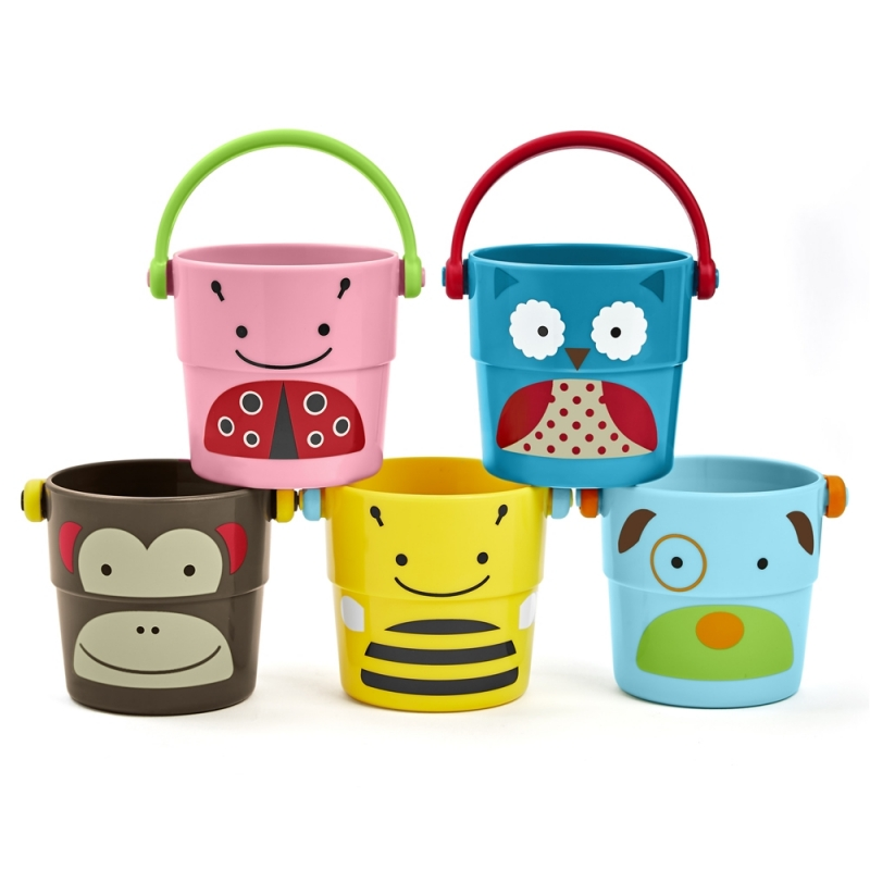 Skip Hop Zoo Stack & Pore Buckets