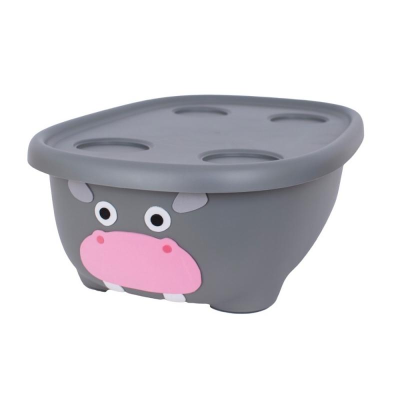 Prince Lionheart Tubimal™ Infant & Toddler Tub-Hippo