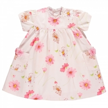 Emile et Rose Meera Baby Girls Floral Dress-Pink