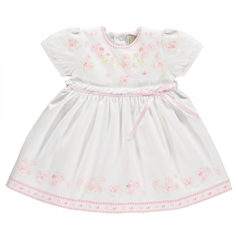 Emile et Rose Maddy Baby Girls Floral Print Summer Dress