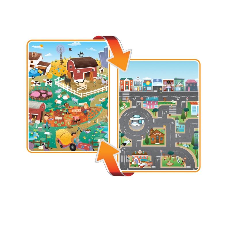 Prince Lionheart Flipside playMAT-City/Farm