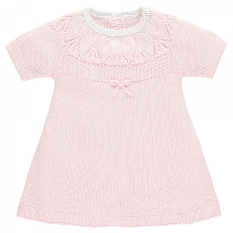 Emile et Rose Mae Baby Girls Knit Dress-Pink