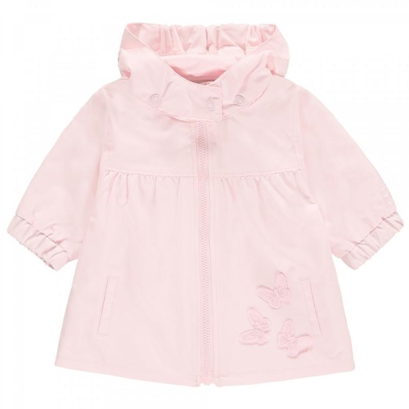Emile et Rose Mindy Girls Butterfly Lightweight Jacket-Pink