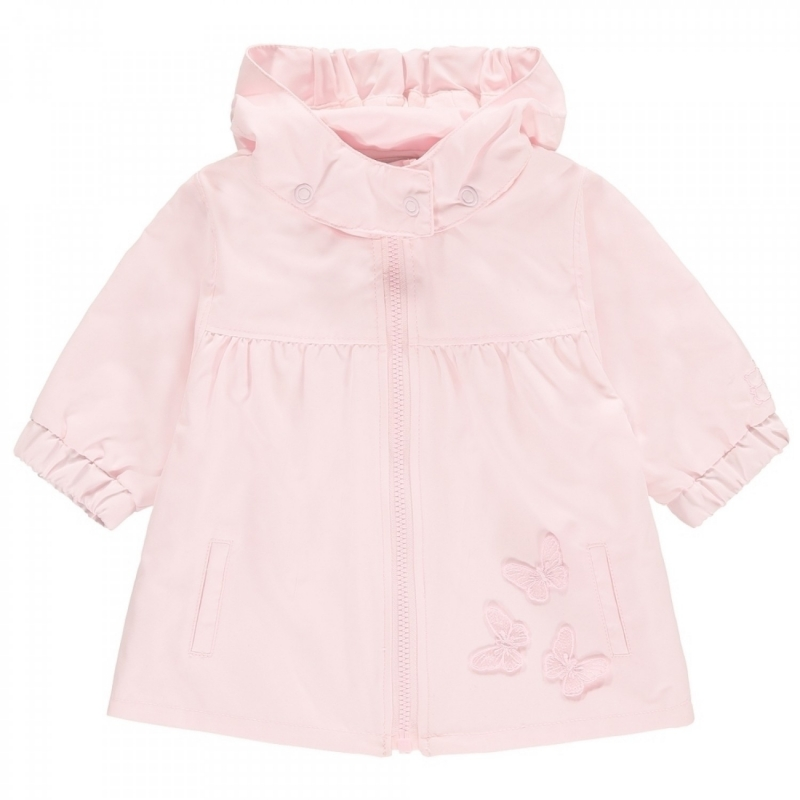 Emile et Rose Mindy Girls Butterfly Lightweight Jacket-Pink