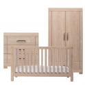 Silver Cross Camberwell 3 Piece Room Set-Oak (New 2018)