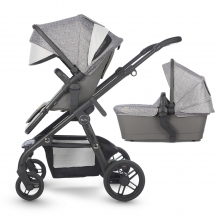 Silver Cross Coast Travel System System With FREE Matching Bag-Limestone (New 2018)