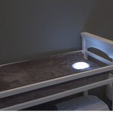 Illumipad®: Illuminating Changing Pad with Grey Cover