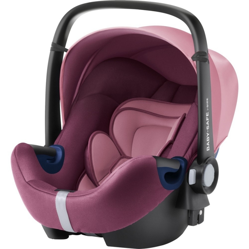 Britax Baby Safe 2 i-Size Car Seat-Wine Rose (New)