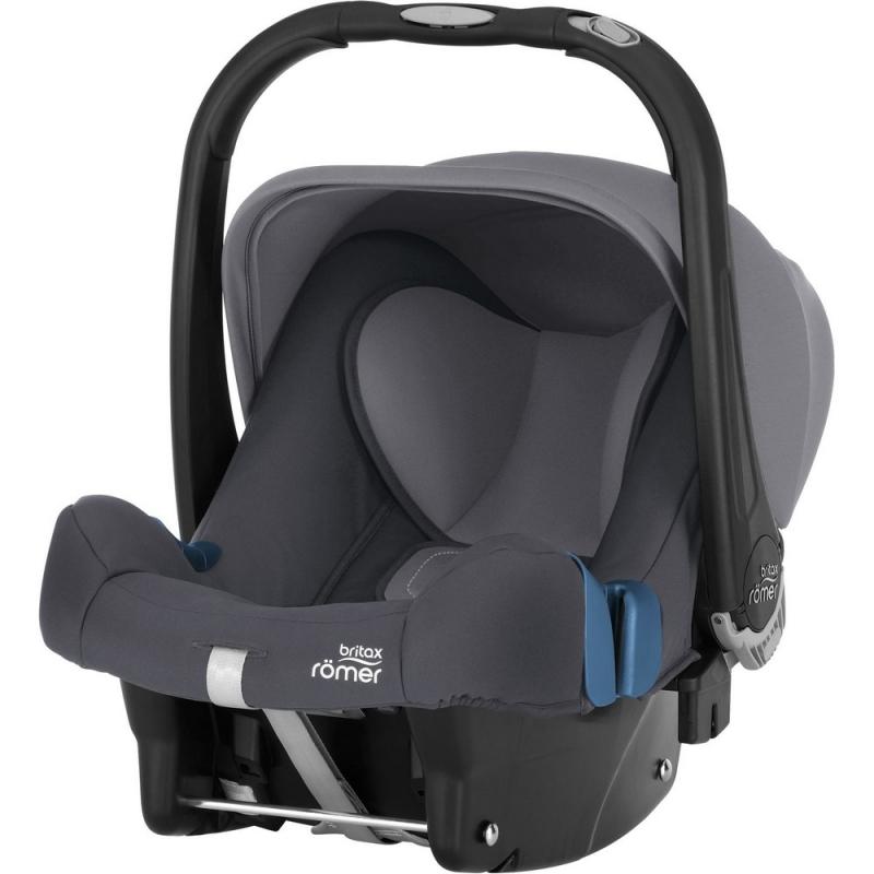 Britax Baby Safe Plus SHR II Group 0+ Car Seat-Storm Grey (New)