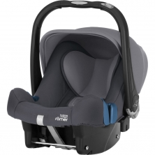 Britax Baby Safe Plus SHR II Group 0+ Car Seat-Storm Grey (New)