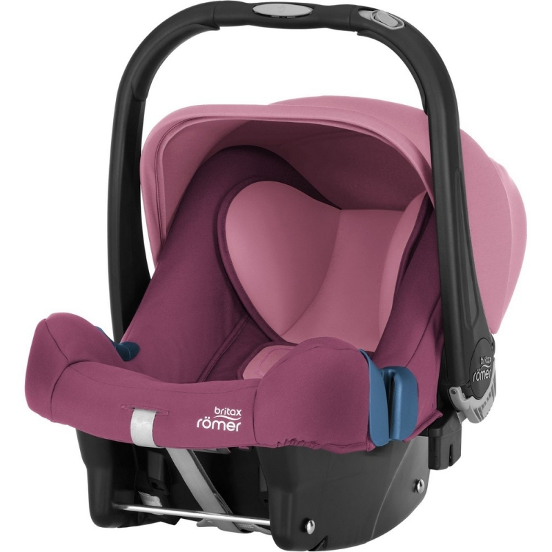 Britax Baby Safe Plus SHR II Group 0+ Car Seat-Wine Rose (New)