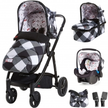Cosatto Wow Travel System Bundle-Mademoiselle