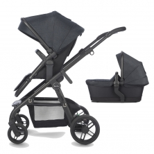 Silver Cross Coast Travel System System With FREE Matching Bag-Flint (New 2018)