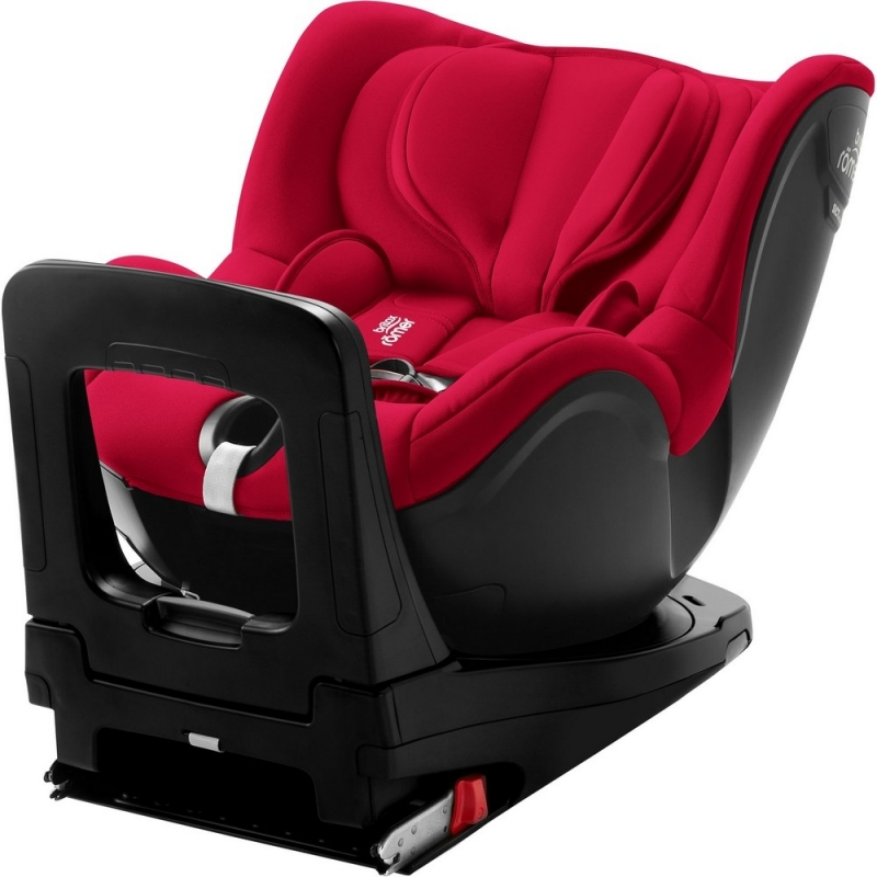 Britax Dualfix i-Size Group 0+/1 Car Seat-Fire Red (New)