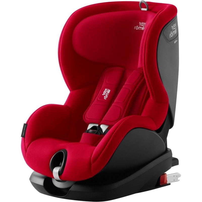 Britax Romer TRIFIX² i-SIZE Group 1 Car Seat-Fire Red (New 2018)