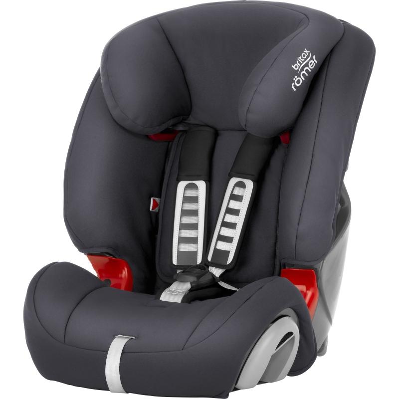 Britax Evolva 123 Car Seat-Storm Grey (New)