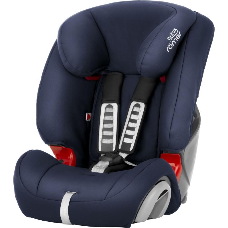 Britax Evolva 123 Car Seat-Moonlight Blue (New)