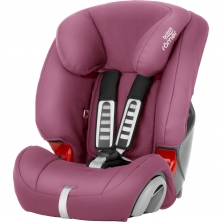 Britax Evolva 123 Car Seat-Wine Rose (New)