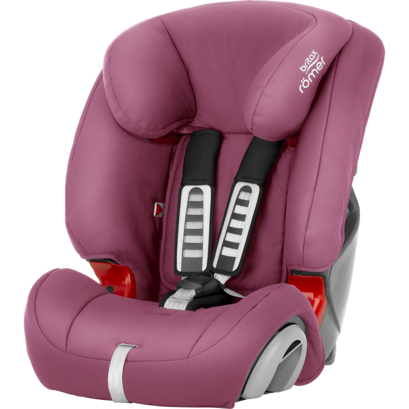 Britax Evolva 123 Car Seat-Wine Rose (New)