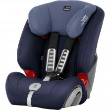 Britax Evolva 123 Plus Car Seat-Moonlight Blue (New)
