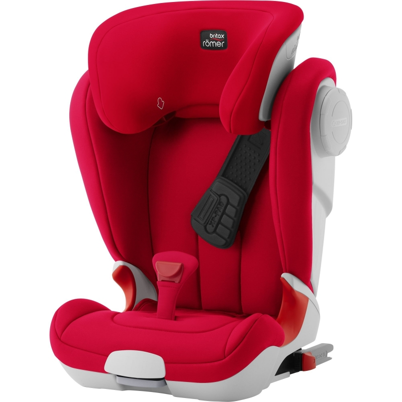 Britax Kidfix II XP SICT Group 2/3 Car Seat-Fire Red (New)