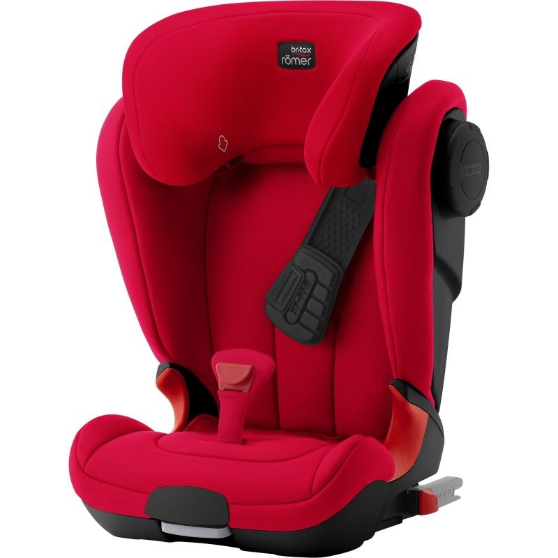 Britax Kidfix II XP SICT Black Series Group 2/3 Car Seat-Fire Red (New)