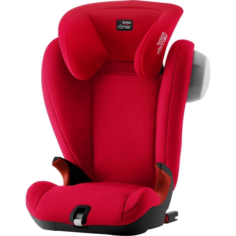 Britax Kidfix SL SICT Black Series Group 2/3 Car Seat-Fire Red (New)