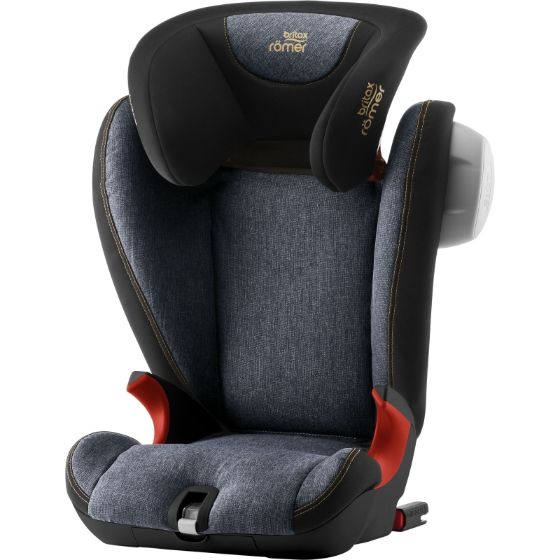 Britax Kidfix SL SICT Black Series Group 2/3 Car Seat-Blue Marble (New)